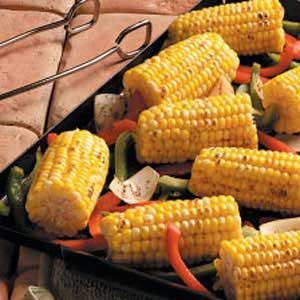 Sweet Corn 'n' Peppers Recipe