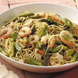 Pesto Shrimp Pasta Recipe