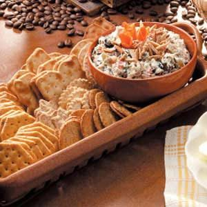 Olive-Rice Cheese Spread Recipe