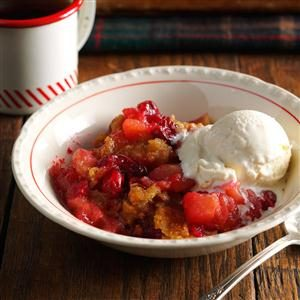 Classic Apple Cranberry Crisp Recipe
