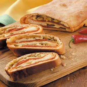 Peppy Provolone Slices Recipe