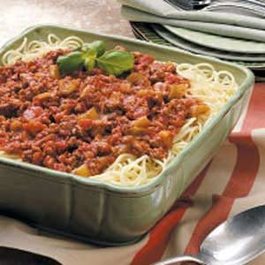 Hearty Spaghetti Recipe
