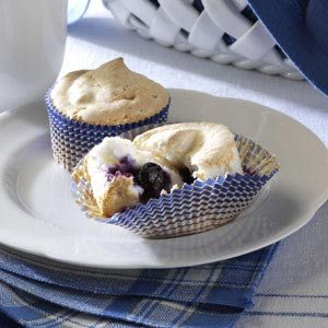 Blueberry Angel Cupcakes Recipe