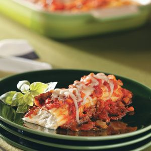 Manicotti with Spicy Sausage Recipe