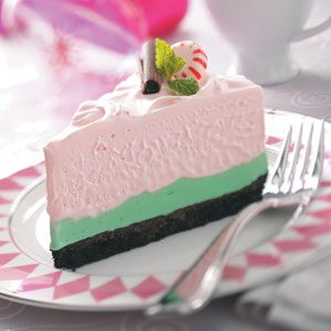 Peppermint Grasshopper Torte Recipe