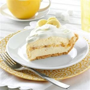 Menu #4 Dessert: Favorite Banana Cream Pie