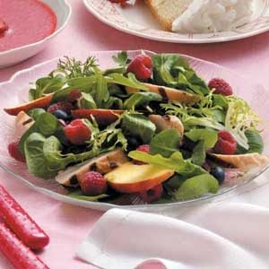 Fruited Chicken Lettuce Salad Recipe