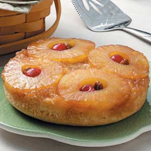 Mini Pineapple Upside-Down Cake