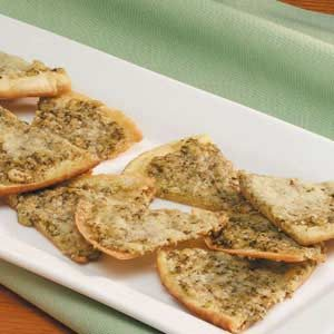 Pesto Pita Appetizers Recipe