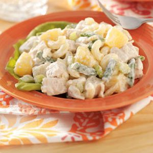 Hawaiian Chicken Macaroni Salad Recipe