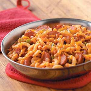 Sausage Mac Supper Recipe