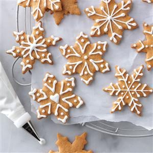 Butterscotch Gingerbread Cookies Recipe photo by Taste of Home