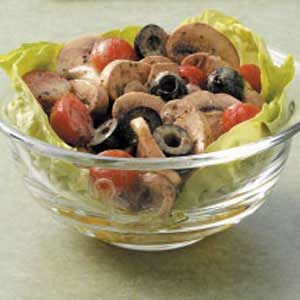 Cold mushroom salad recipes