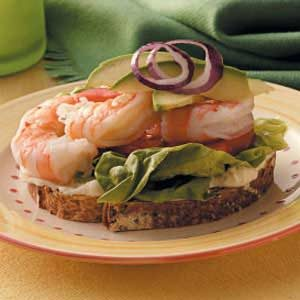 Lemony Shrimp Sandwiches Recipe
