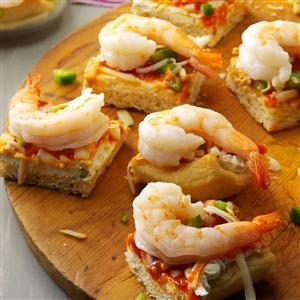 Shrimp Lover Squares Recipe