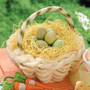 White Chocolate Easter Basket Recipe