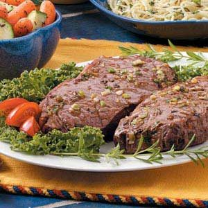 Special Strip Steaks Recipe