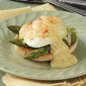 Asparagus Eggs Benedict Recipe