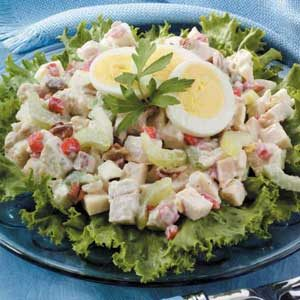 Crunchy-Style Chicken Salad Recipe