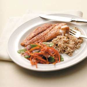 Snapper with Vegetable Medley Recipe