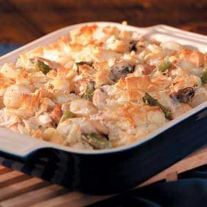 Phyllo Chicken Potpie Recipe