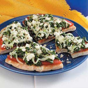Greek Pizzas Recipe