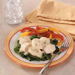 recipe: baked scallops florentine [6]