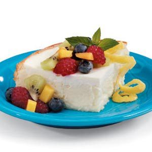 Crustless Almond Cheesecake