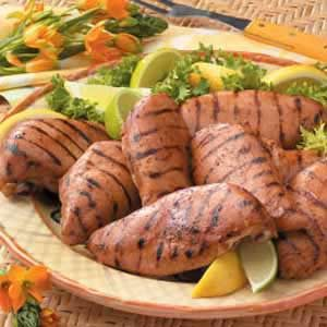 Marinated Barbecued Chicken Recipe