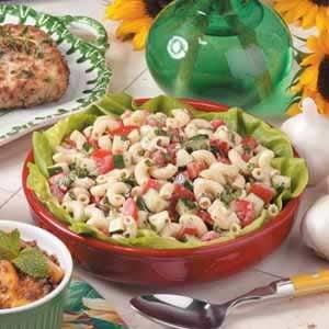 Macaroni Garden Salad Recipe