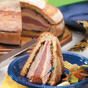 Crowd-Pleasin' Muffuletta Recipe