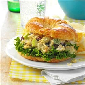 Curried Chicken Salad Sandwiches Recipe
