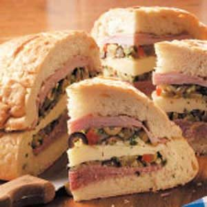 Hearty Muffuletta Recipe