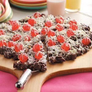 Chocolate Pizza Candy Recipe