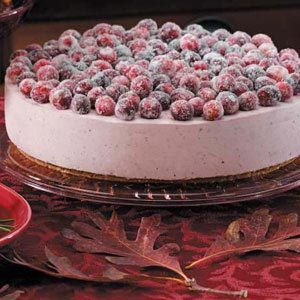 Mallow Cranberry Cheesecake Recipe