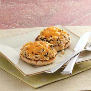 Open-Faced Seafood Sandwiches Recipe