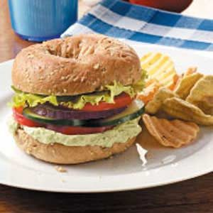 Zesty Garlic-Avocado Sandwiches Recipe