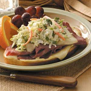 Open-Faced Reubens Recipe