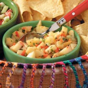 Peppy Peach Salsa