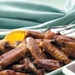 Orange-Glazed Chicken Wings Recipe