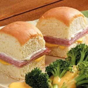 Hawaiian Deli Sandwiches Recipe