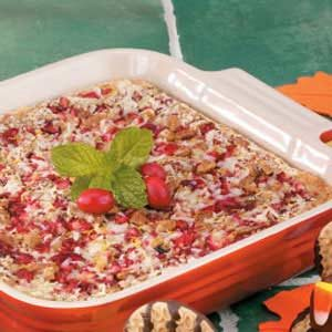 Cranberry Coconut Bars Recipe