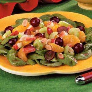 Easy Fruity Spinach Salad Recipe