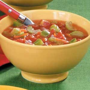 Hearty Mixed Vegetable Soup Recipe