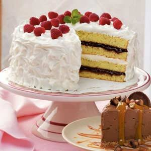 Raspberry Lemon Torte Recipe