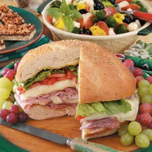 Warm Layered Sandwich Recipe