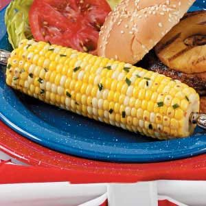 Grilled Honey-Ginger Corn Recipe