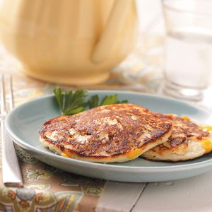 Corn Potato Pancakes Recipe