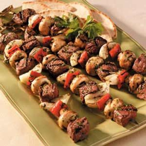 Lamb and Beef Kabobs Recipe