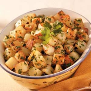 Cilantro Potatoes Recipe
